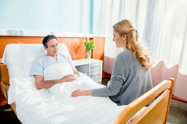 wife visiting her husband