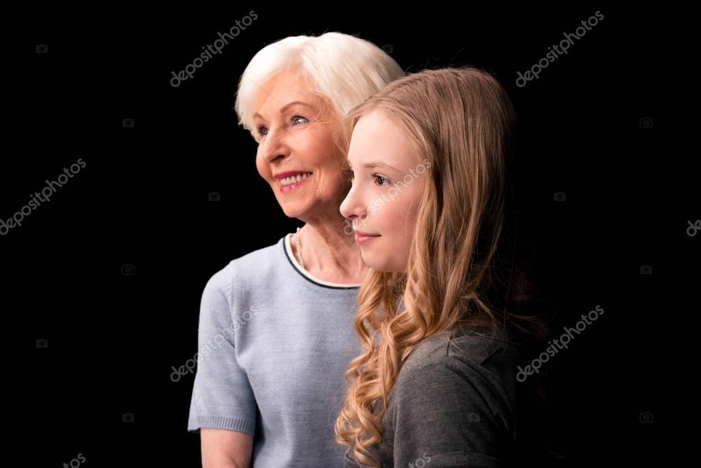 Смотреть две бабушки внучка