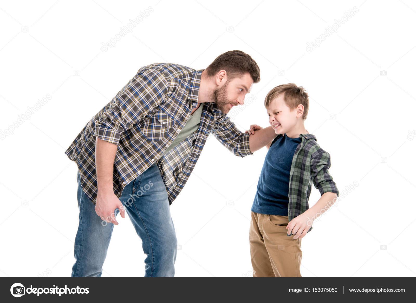 Imágenes: Padres E Hijos Discutiendo