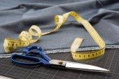 Fotografie Set of sewing supplies