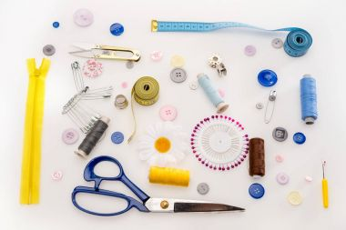 Set of sewing supplies