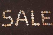 Fényképek Eladó jel készült érmék