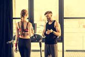 Fotografie Sportler-Training mit Laufband