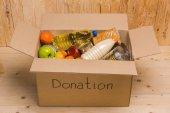 různé darování potravin