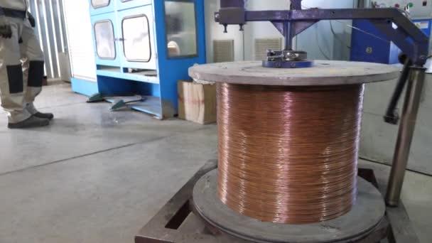 výroba kabelů v továrně na kabely