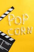 Pop corn nápis