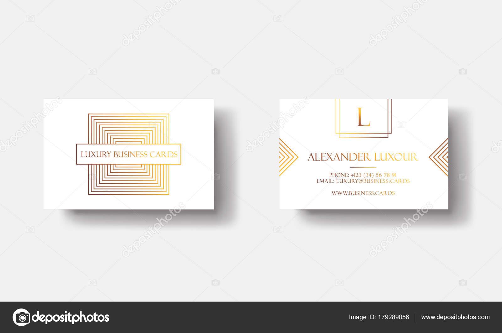 Cartes De Visite Or Blanc Luxe Pour Evenement Vip Elegante Carte Voeux Avec Motif Geometrique Carre Dore Banniere Ou Invitation Logo