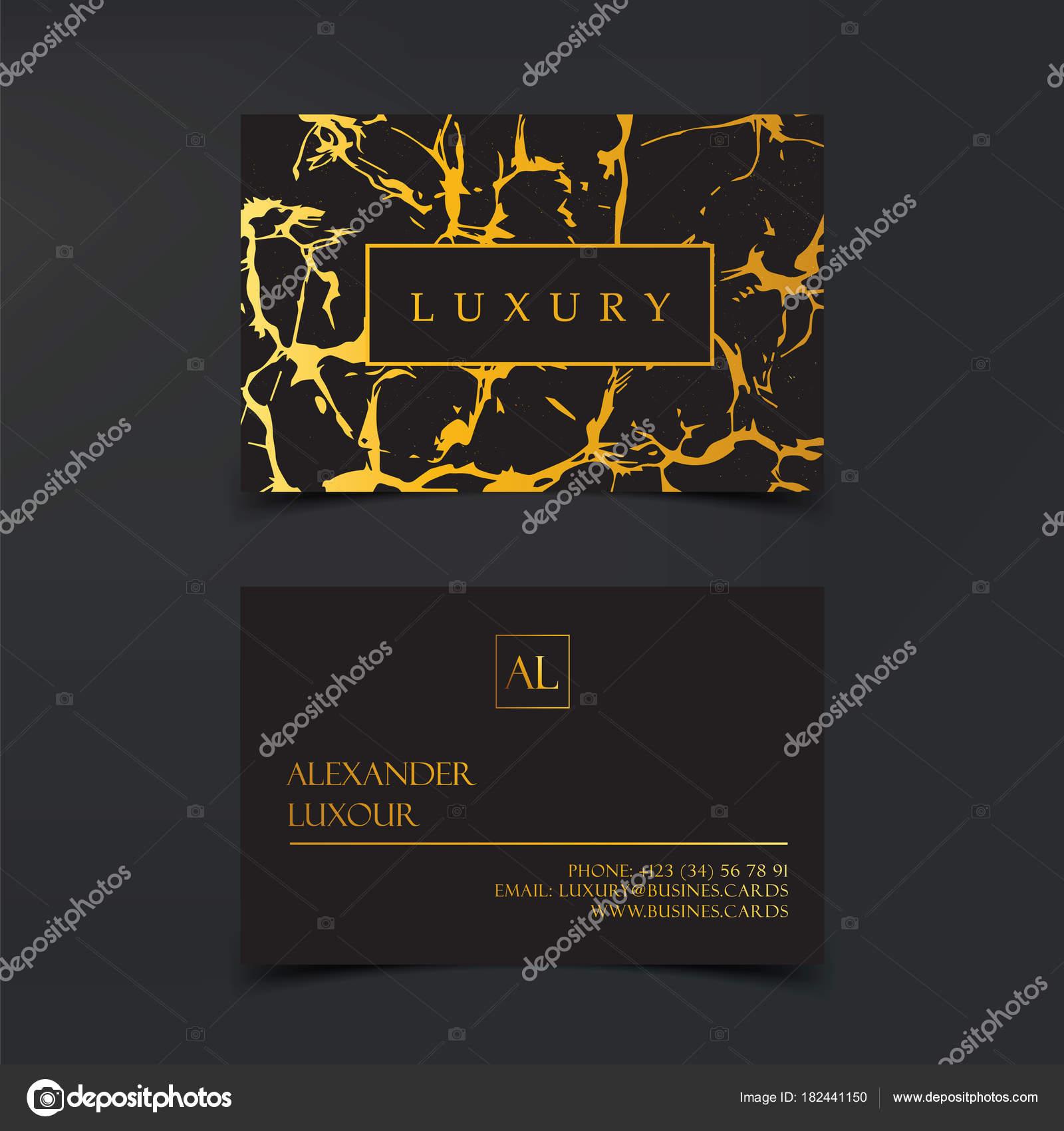 Cartes De Visite Luxe Vecteur Modele Banniere Et Couverture Avec Texture Zebree En Marbre