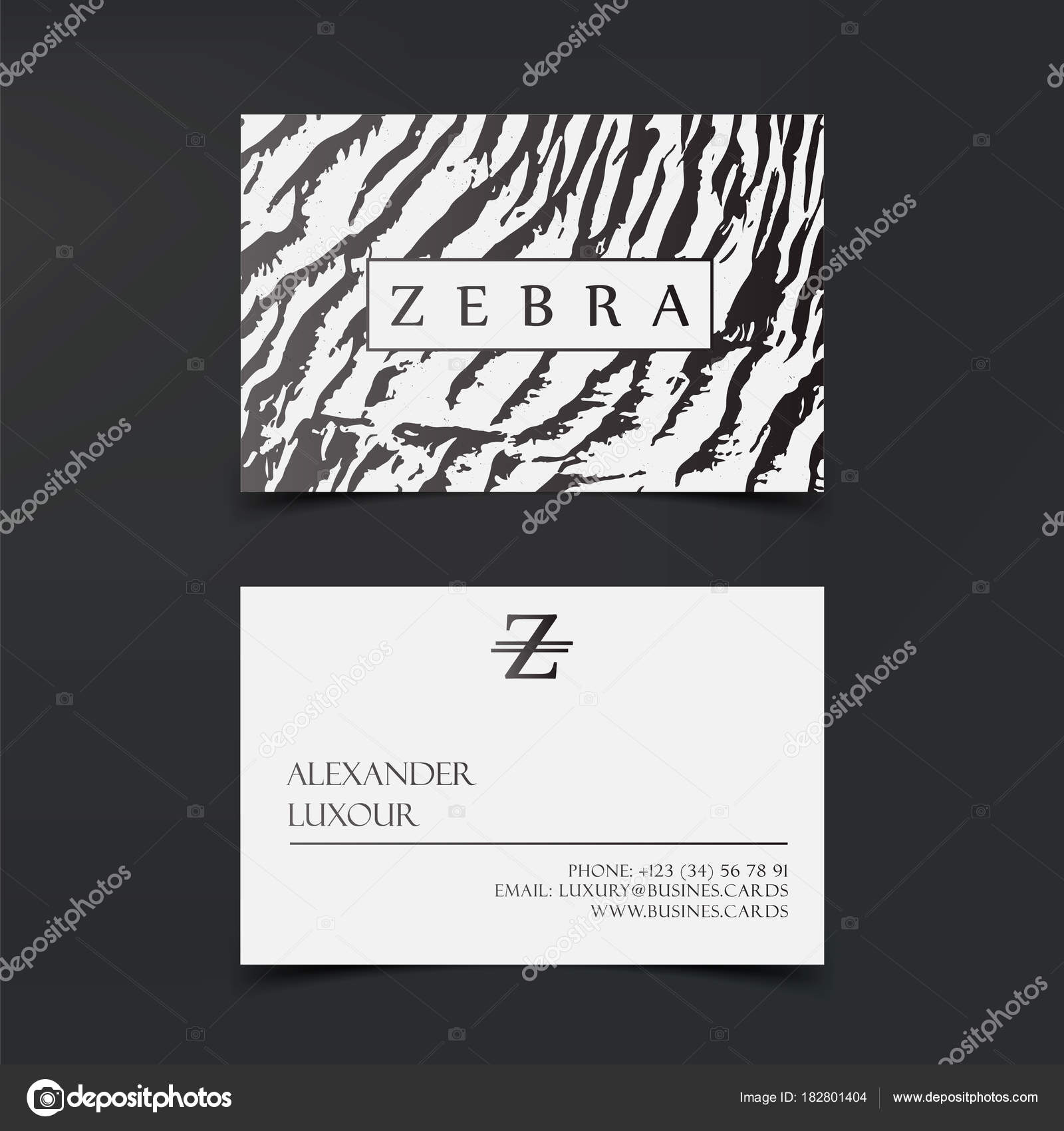 Luxury fashion business cards vector template, banner and cover with ...