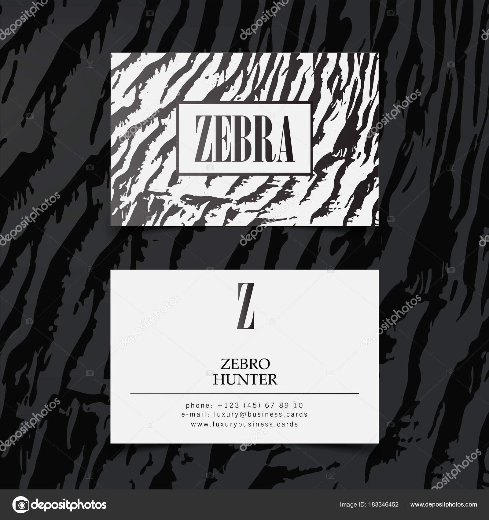 Luxus Mode Visitenkarten Vektor Vorlage, Banner und Abdeckung mit ...