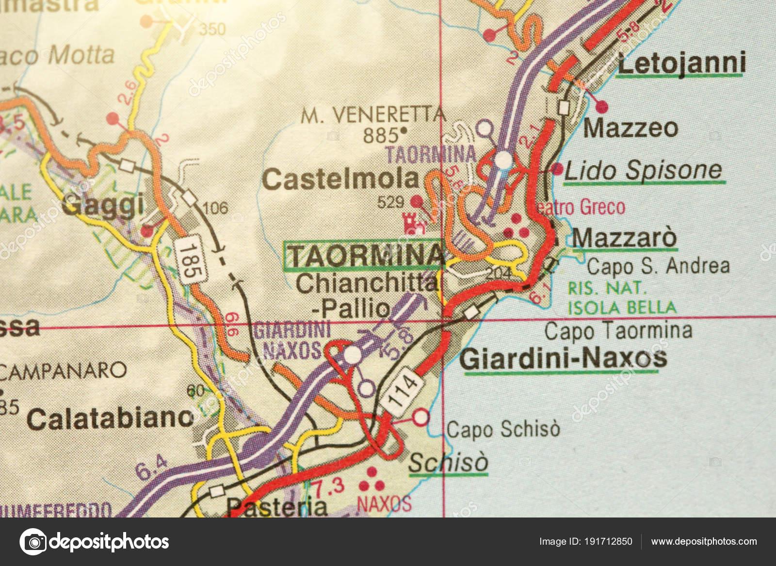 Taormina The Island Of Sicily Italy Stock Photo C Artnapoleonka