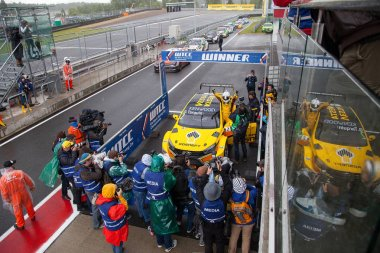 Moscow, Russia - 12 June 2016: world championship WTCC at the Moscow Raceway