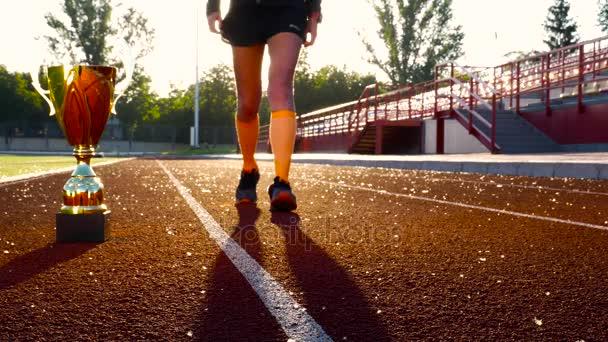 Atletika fthletics soutěží otvírák. Gold vítěz pohár