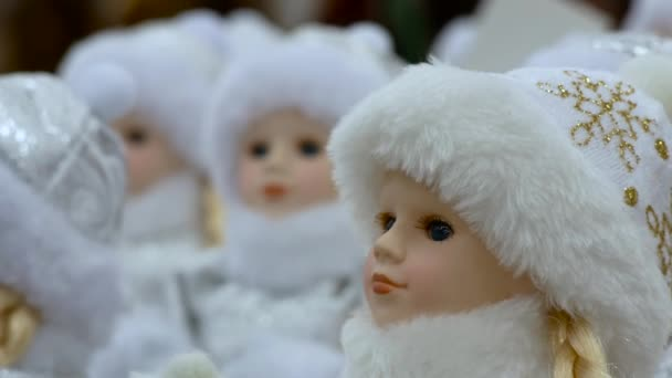 Christmas girl dolls snow maiden for presesents or decoration