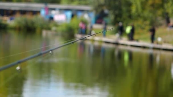 Tip rybářský prut