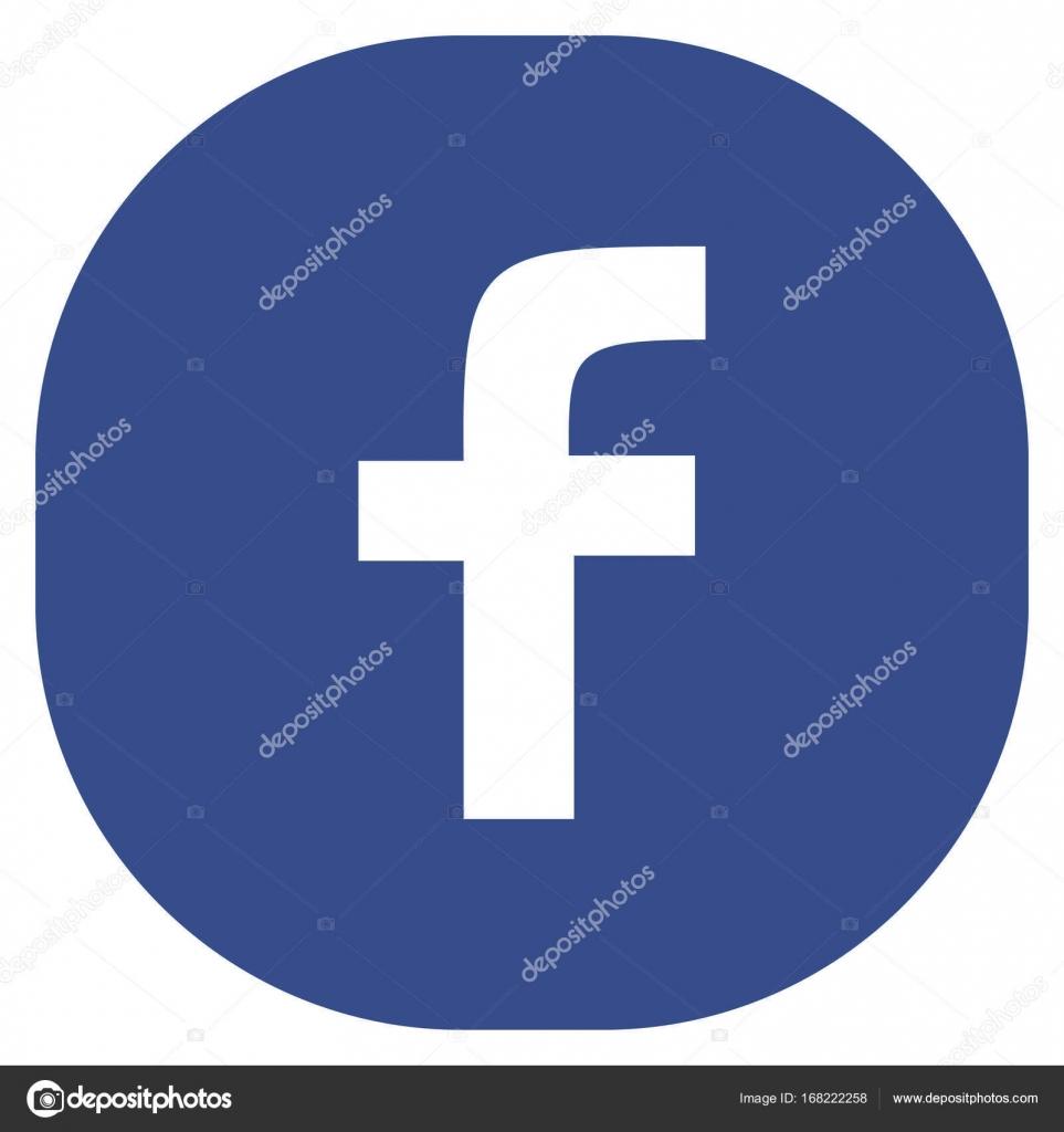 logo facebook vectoriel rond
