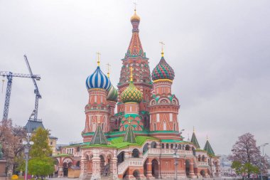 Saint Basil's Cathedral, iconic landmark on Red Square in Moscow