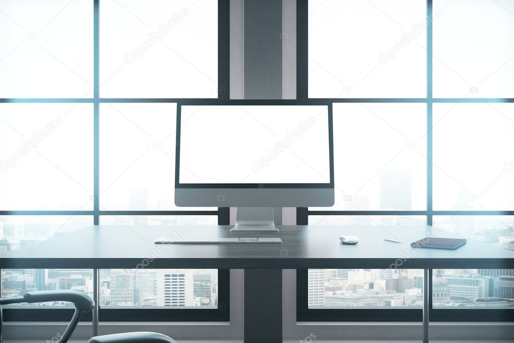 Der moderne Arbeitsplatz closeup — Stockfoto © peshkova #127203608
