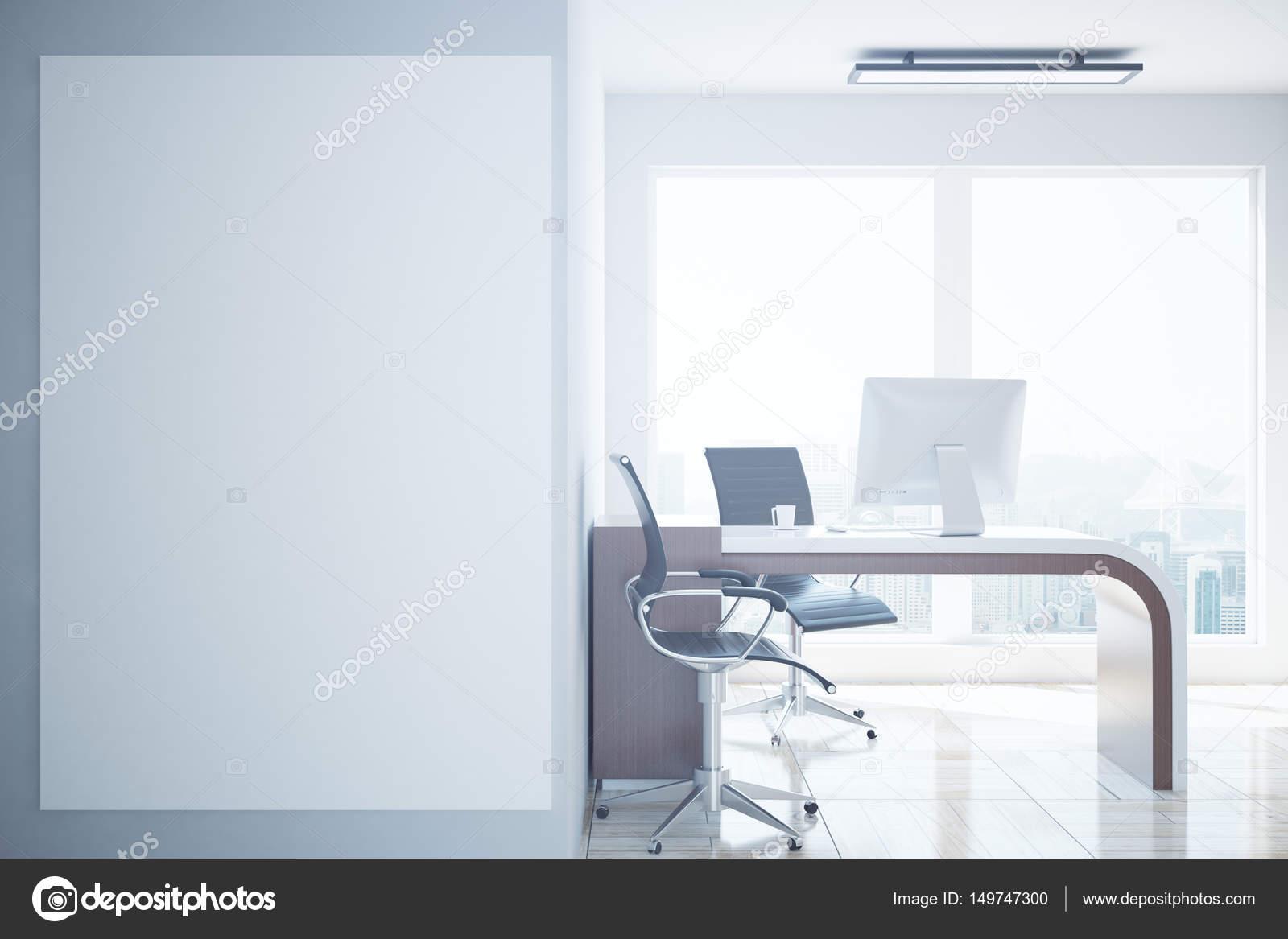 Tableau Blanc Bureau : Bureau avec tableau blanc blanc u photographie peshkova