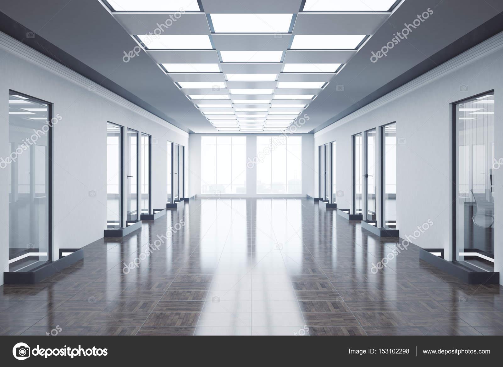 Pasillo de oficinas vac as fotos de stock peshkova for Oficinas enterprise