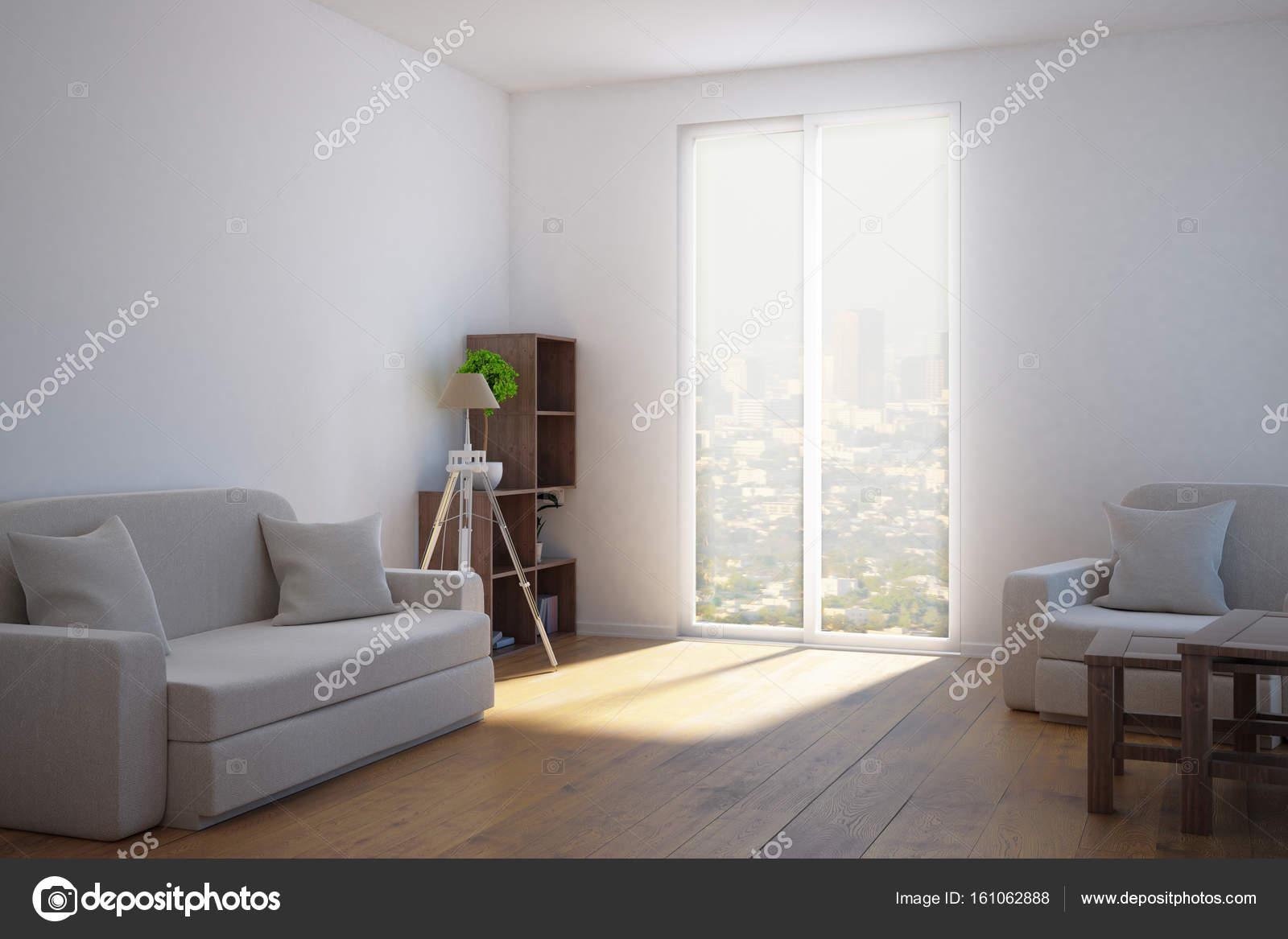 lichte woonkamer — Stockfoto © peshkova #161062888