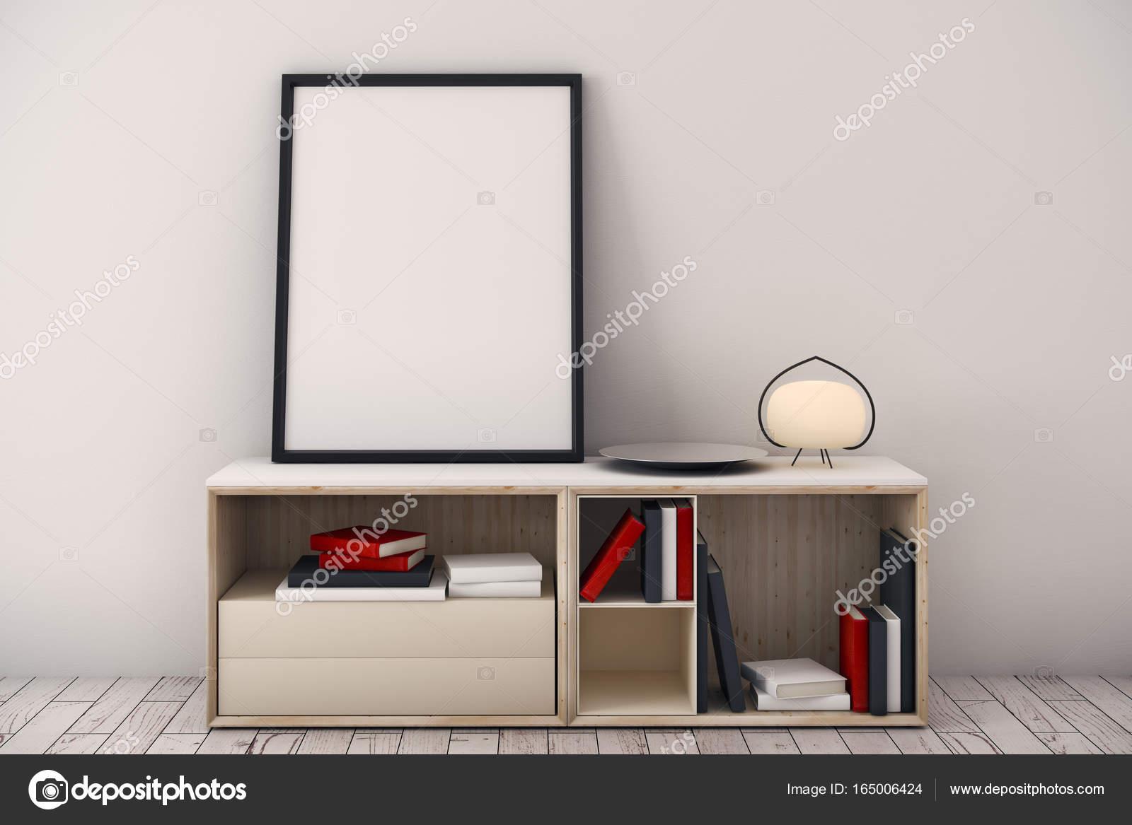 Zeitgenössischen Innenraum mit Schrank — Stockfoto © peshkova #165006424