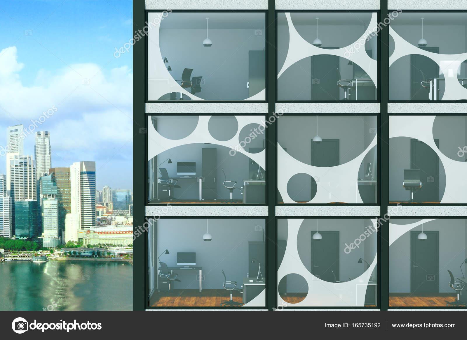 Glas-Neubau — Stockfoto © peshkova #165735192