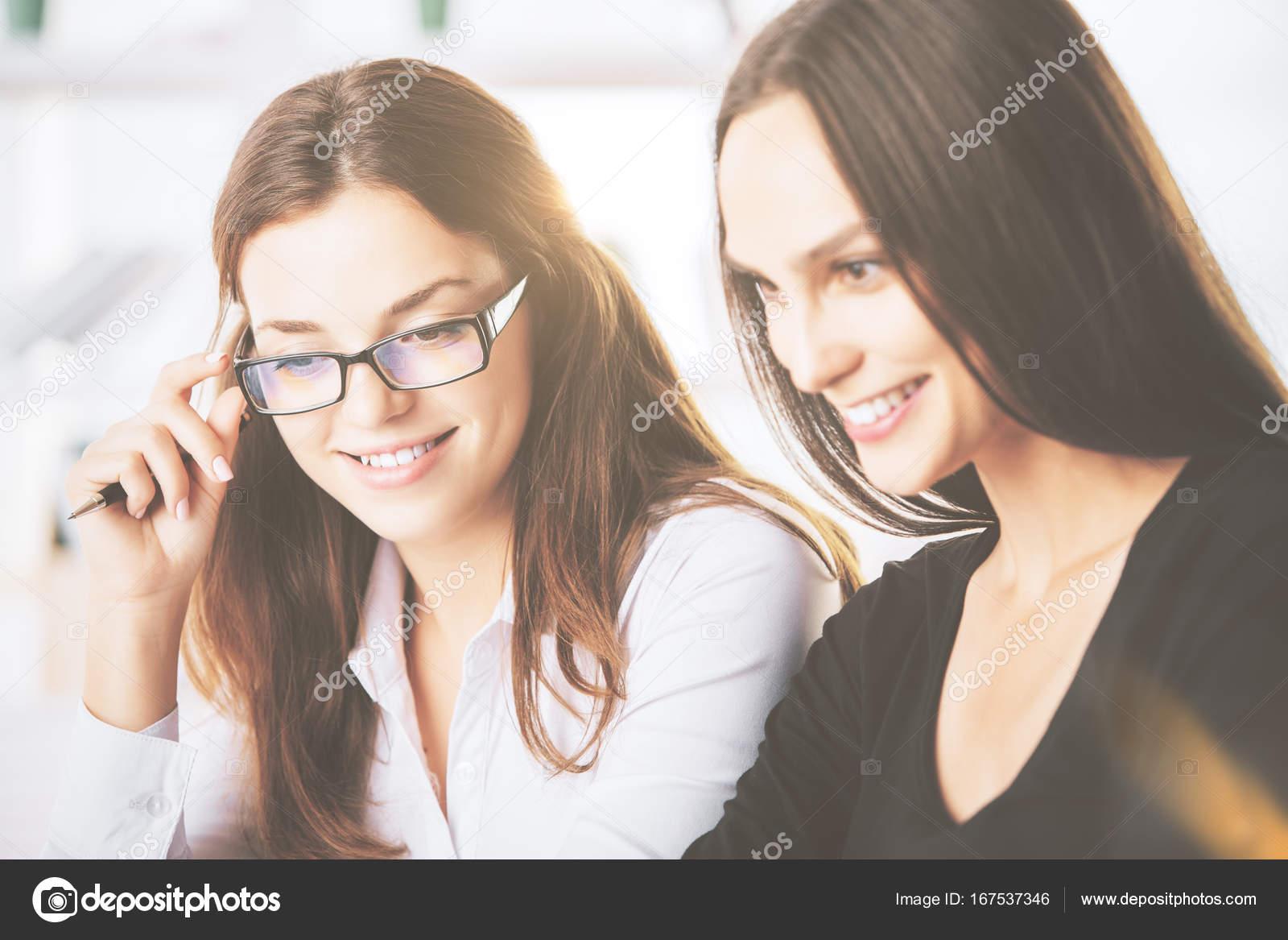 Caucasian ladies