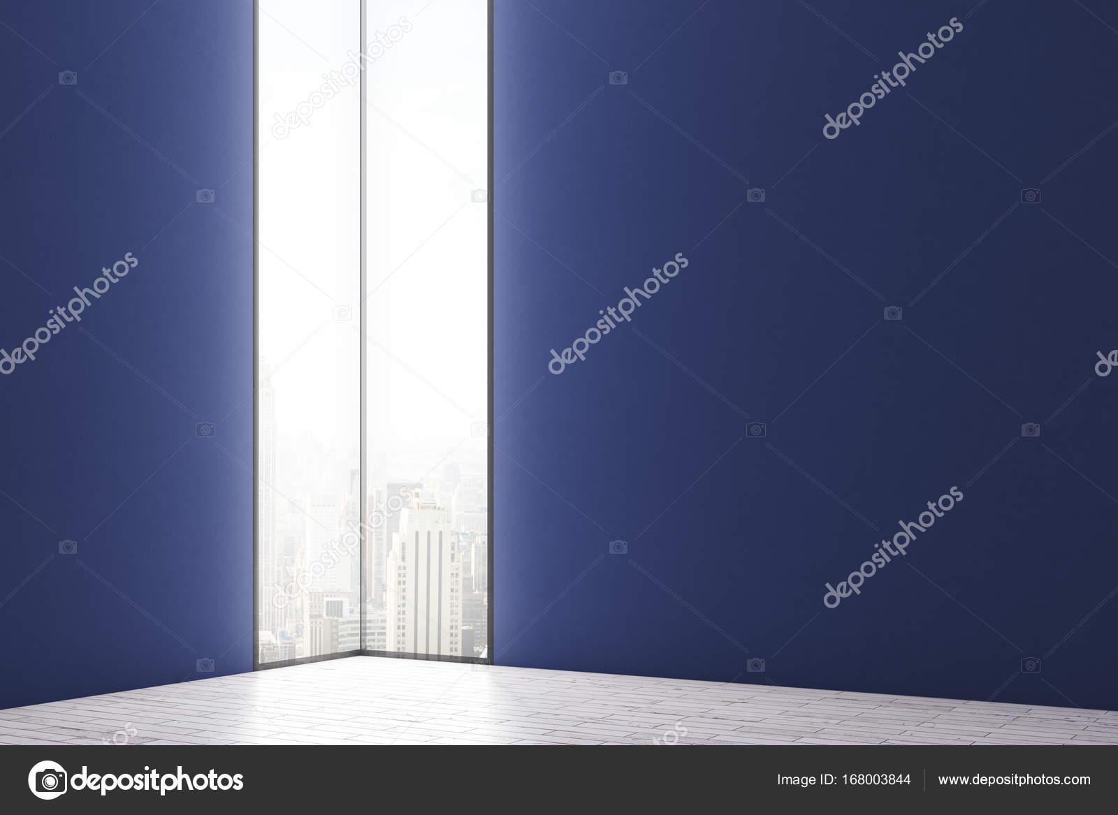 Minimalistische interieur met lege muur u2014 stockfoto © peshkova