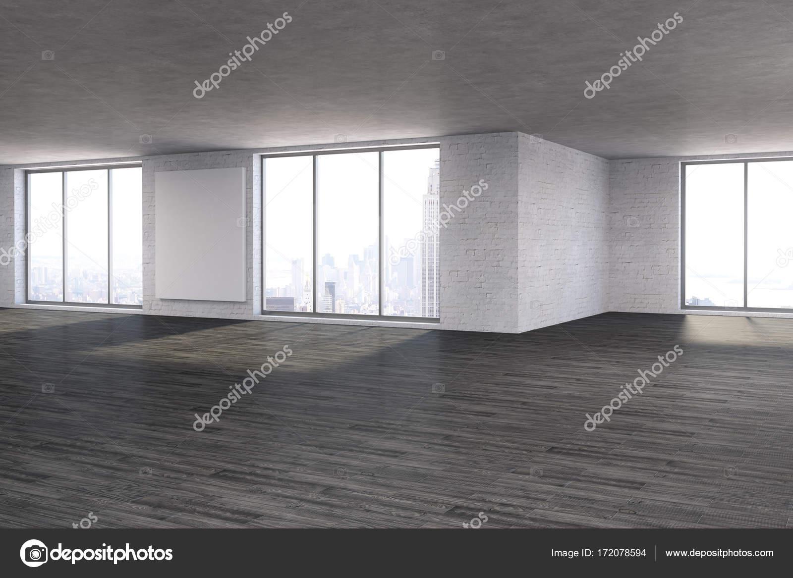 Modernes Zimmer mit leeren Plakat — Stockfoto © peshkova #172078594