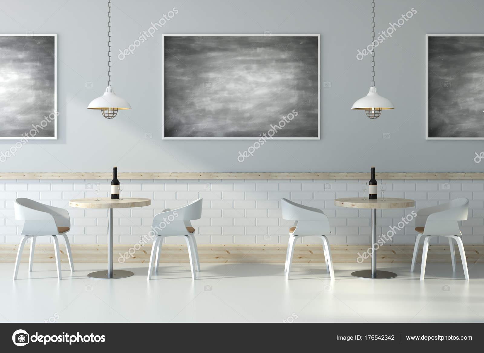 Licht-Café mit Tafel — Stockfoto © peshkova #176542342
