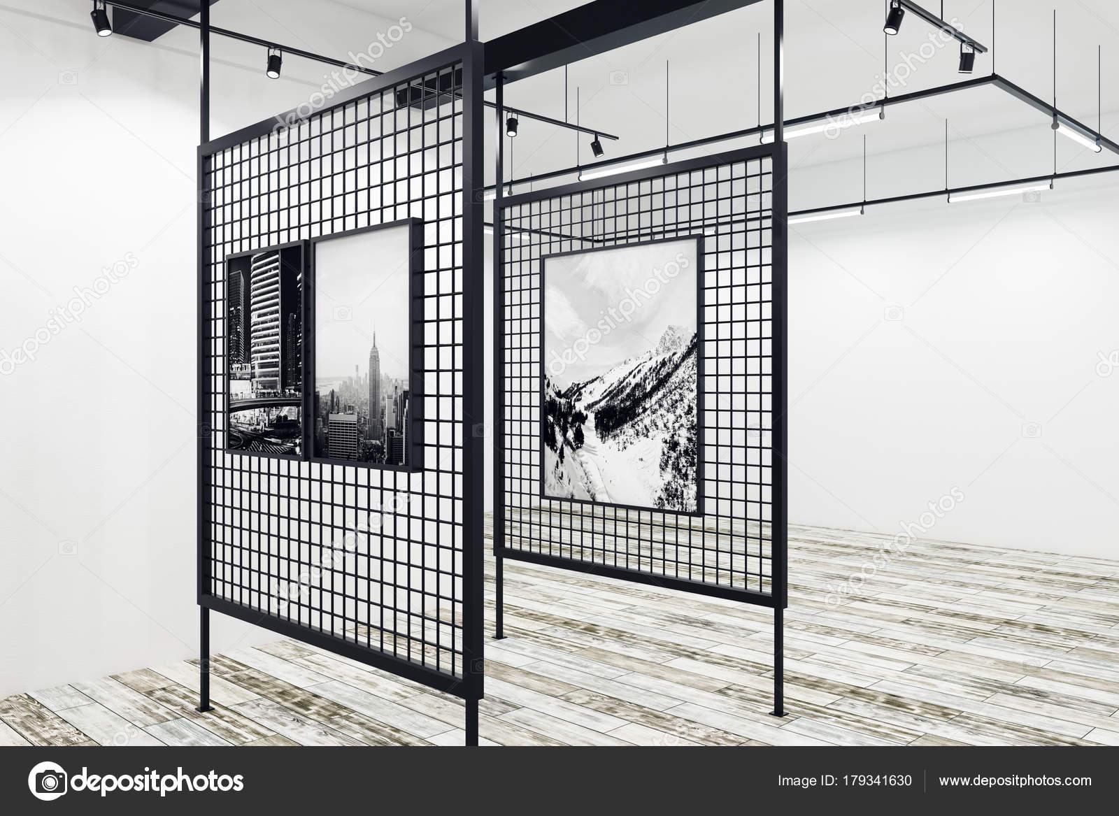 Zeitgenössische Galerie design — Stockfoto © peshkova #179341630