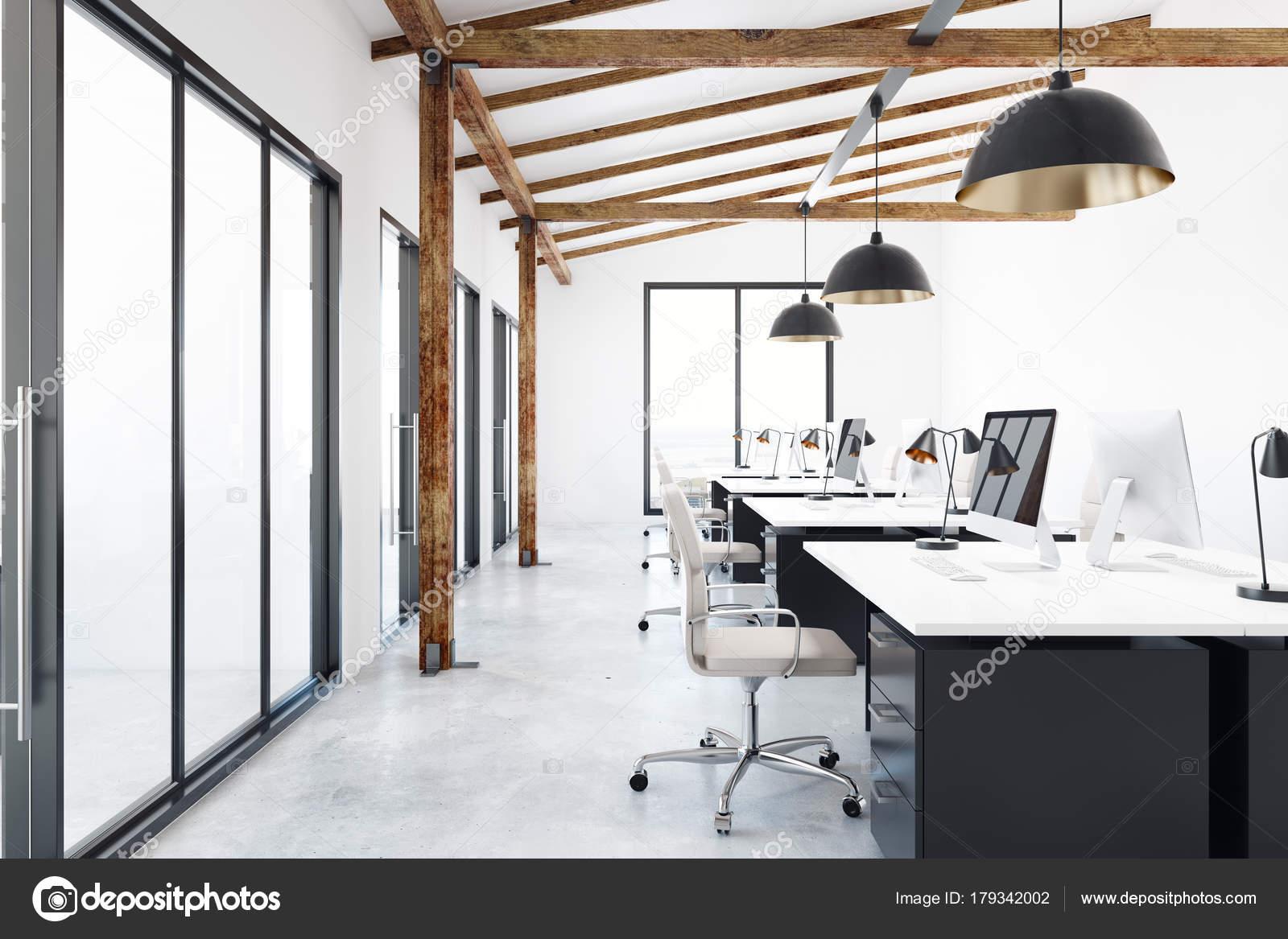Moderne Büroeinrichtung coworking — Stockfoto © peshkova #179342002