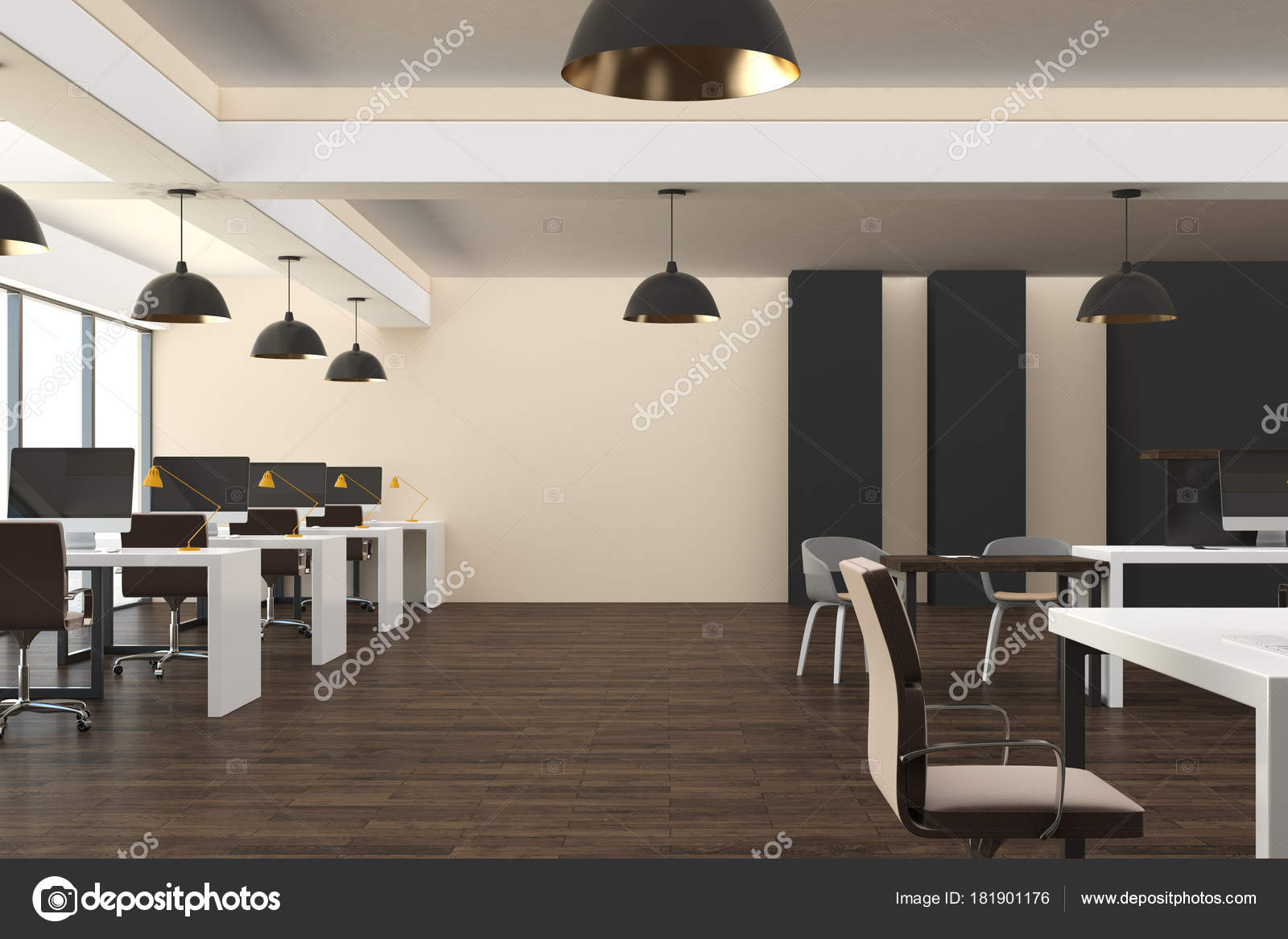 Office interior design concepts Simple Hipster Coworking Office Interior City View Daylight Occupation Design Concept Stock Photo 99xonline Hipster Coworking Office Interior City View Daylight Occupation