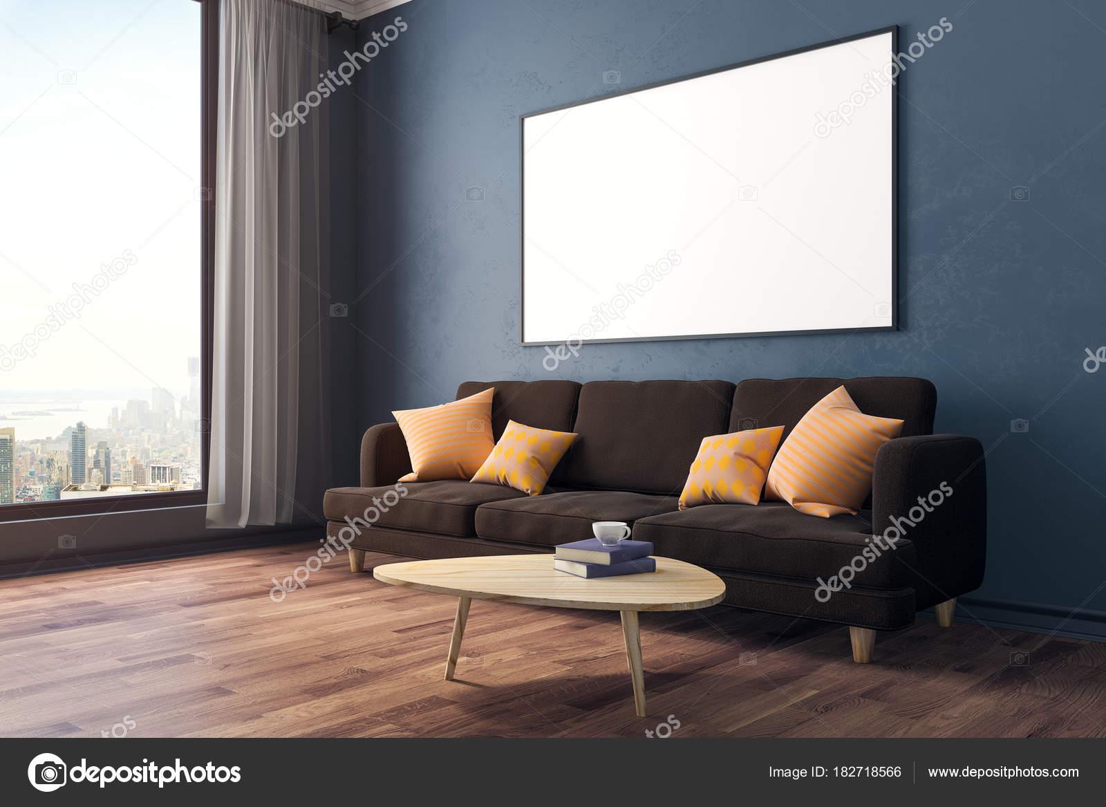 Modernes Zimmer mit Banner-Seite — Stockfoto © peshkova #182718566