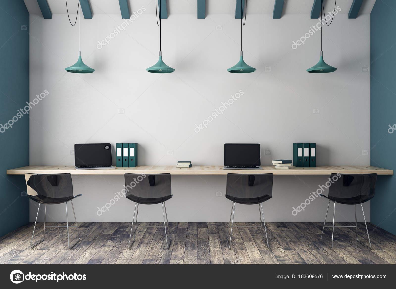 Moderne büroeinrichtung  Moderne Büroeinrichtung coworking — Stockfoto © peshkova #183609576