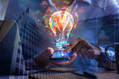 Idee und Technik-Konzept