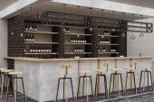 Fotografie Modernes Loft Bar Interieur