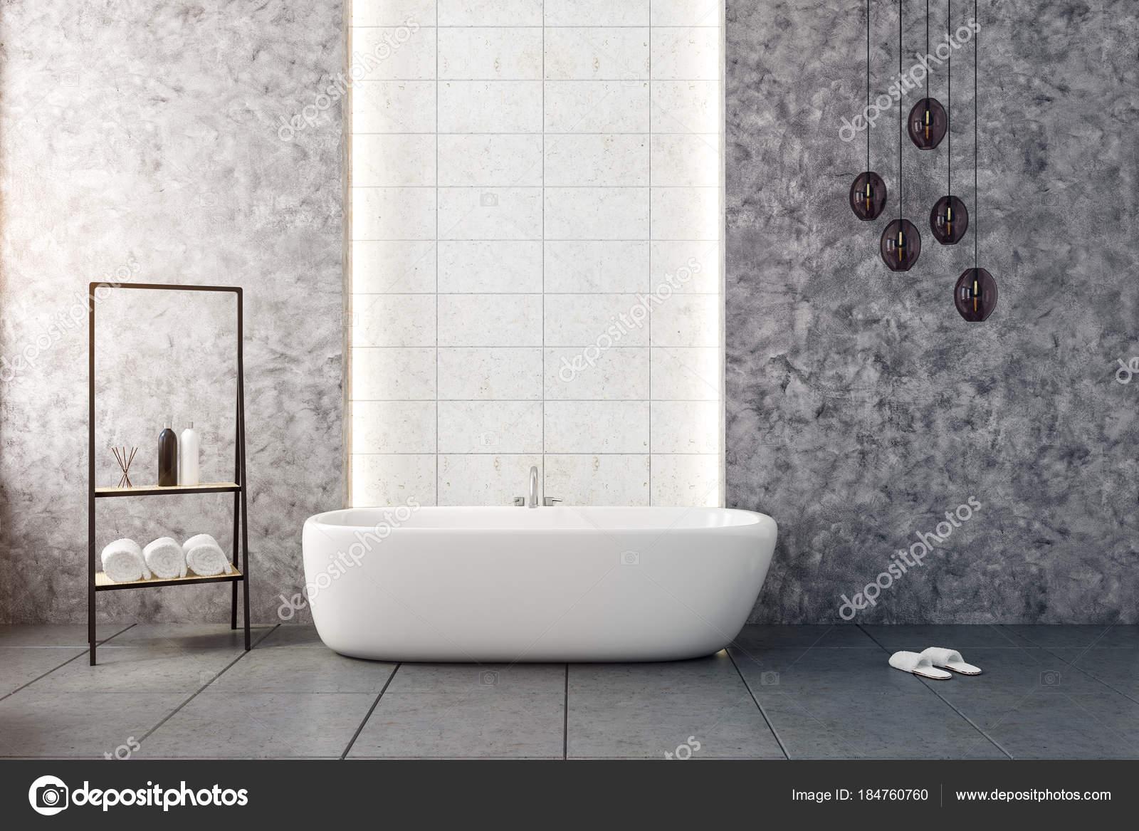 Stylowe łazienki Wnętrza Zdjęcie Stockowe Peshkova