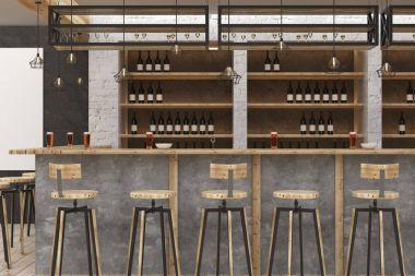 Loft bar interior