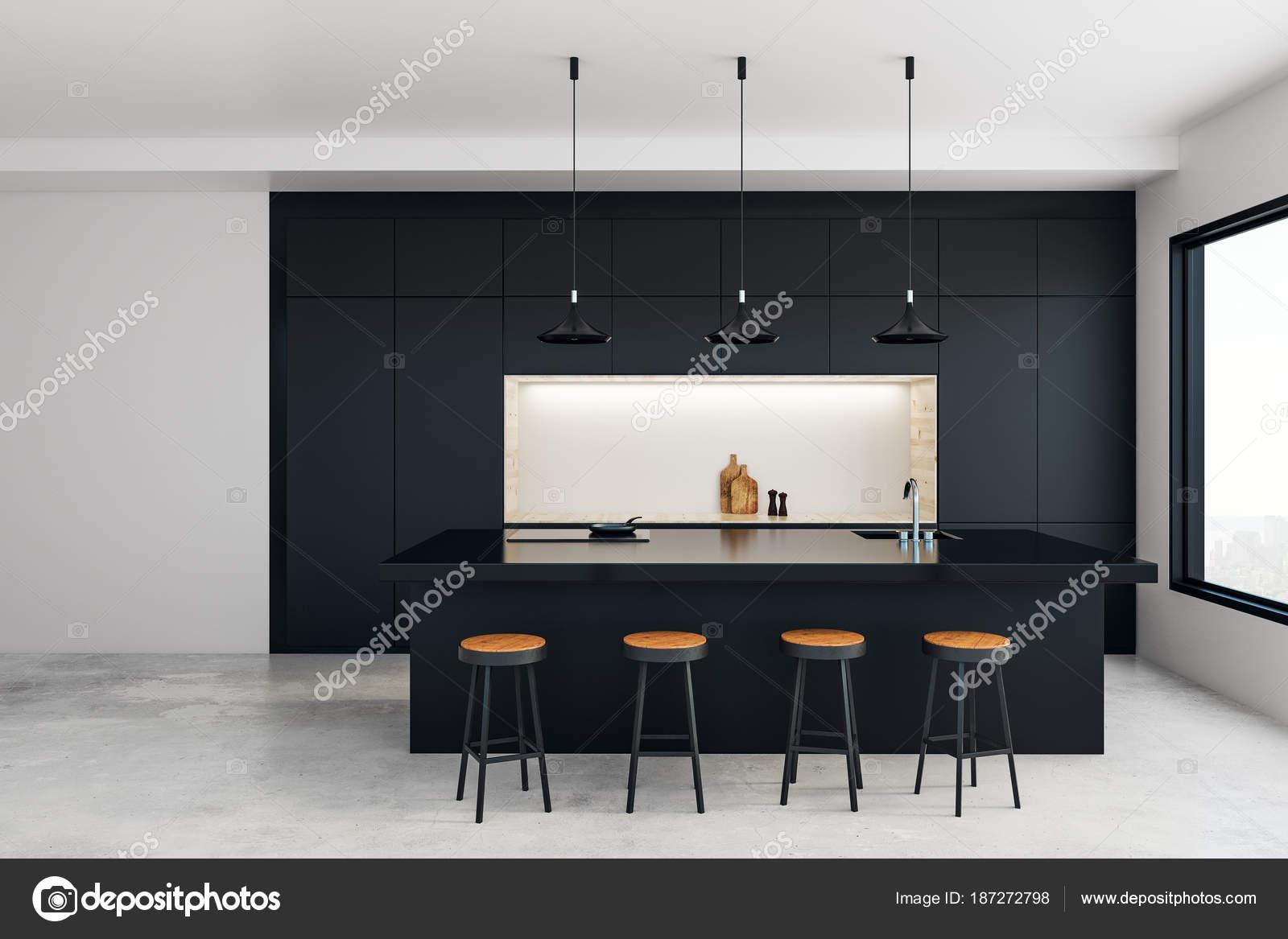 Studio moderna cucina u2014 foto stock © peshkova #187272798