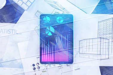 Finance and innovation concept