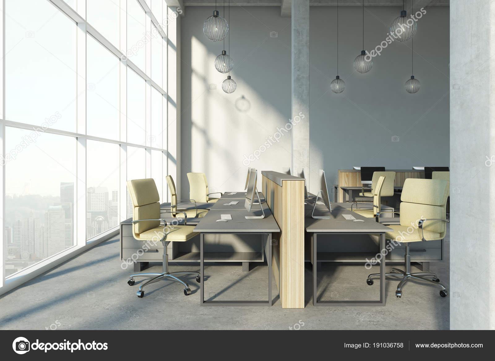 Beton In Interieur : Moderne beton coworking interieur u stockfoto peshkova