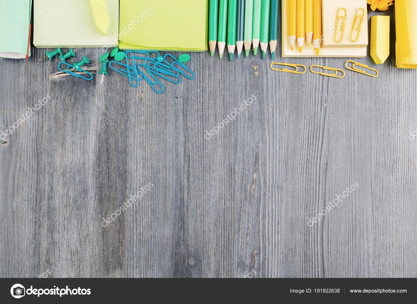 Hipster Office Tabletop With Supplies U2014 Stock Photo