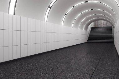 Modern subway metro