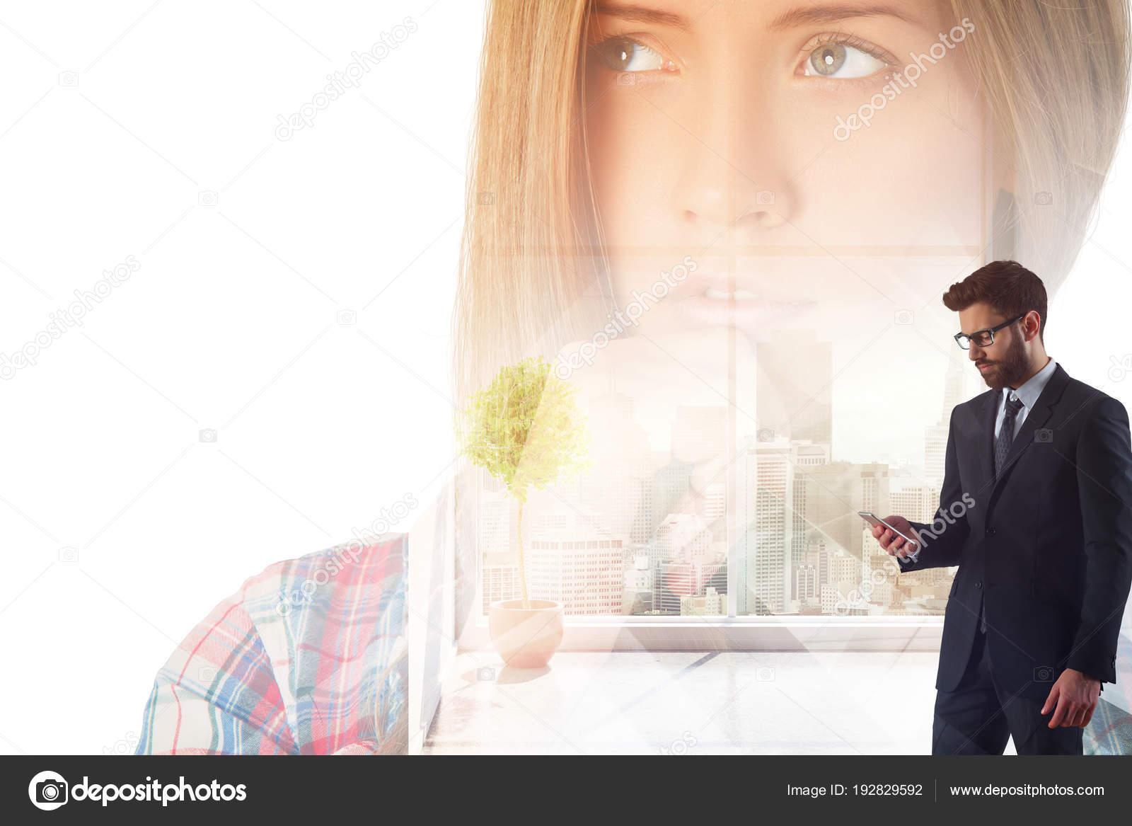 Gut aussehende Online-Dating