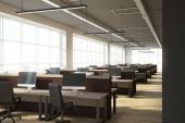 Moderní, coworking kanceláře interiéru
