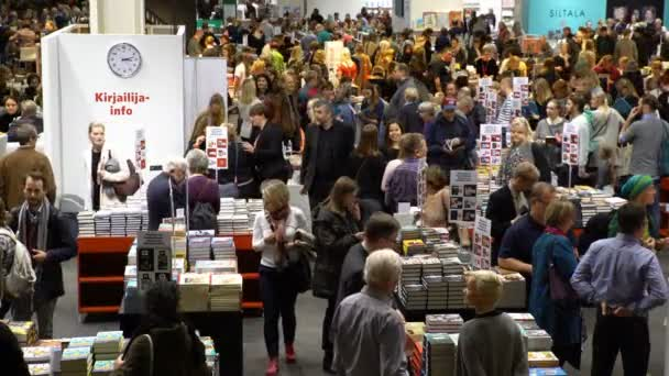 Many lovers of reading, buyers, publishers and books at the big book fair.