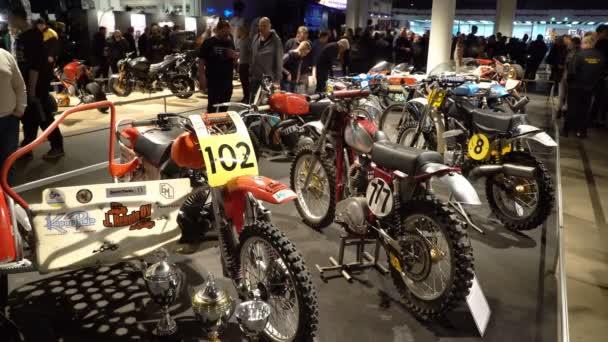 Staré retro motokrosové motorky