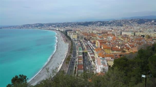 Nice, zátoce andělů, Provence, C te dazur, Francie